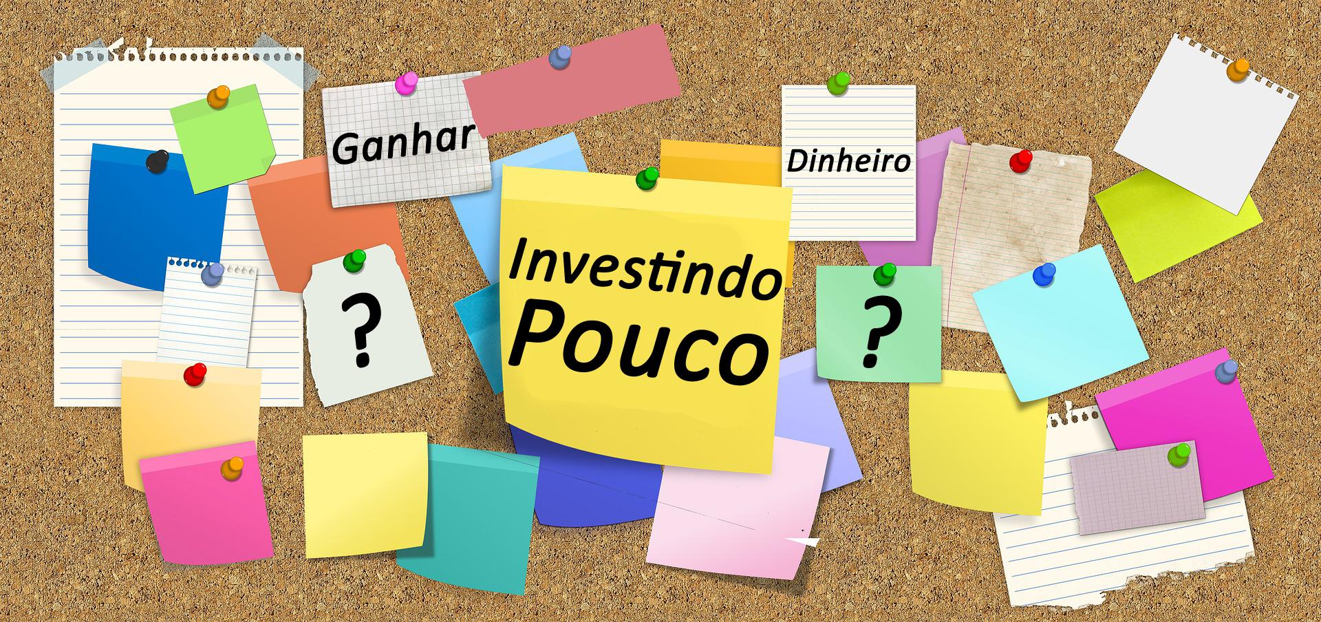 Ideias de Como Ganhar Dinheiro Investindo Pouco na Internet